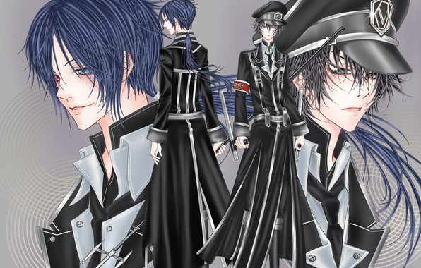 Picture anime, guys, mafia, Katekyo Hitman REBORN!