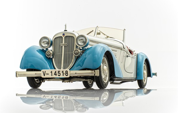 Picture Audi, toy, machine, model, Audi Front 225 Roadster