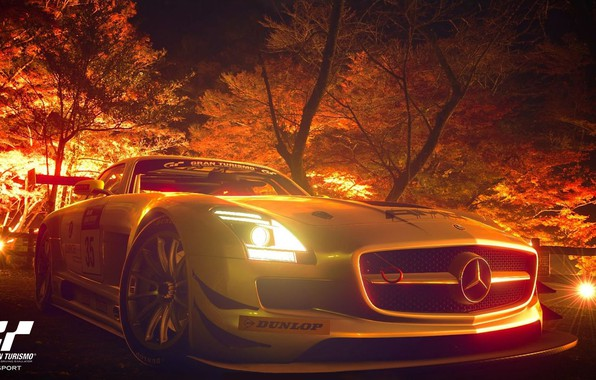 Picture sport car, gran turismo sport, Real driving simulator