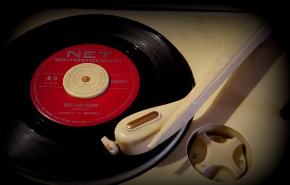Picture vinyl, record, record player