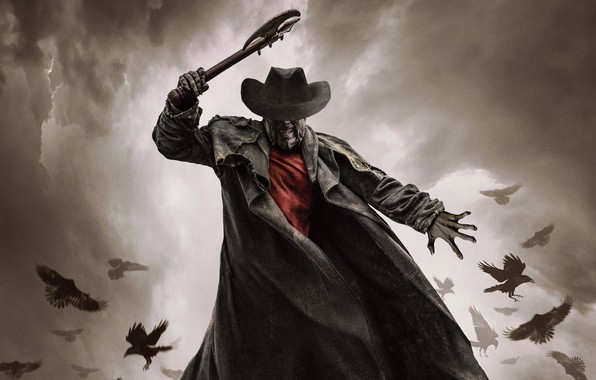 Picture birds, hat, cloak, taper, Jeepers Creepers, Jeepers Creepers 3