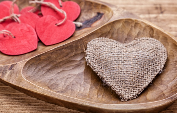 Picture love, wood, romantic, hearts, valentine`s day