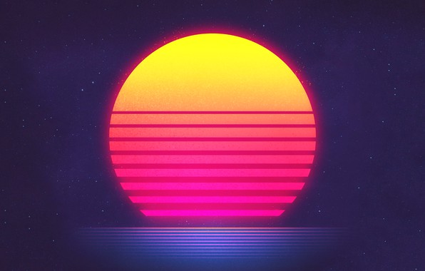 Picture The sun, Music, Stars, Space, Star, Electronic, Synthpop, Darkwave, Synth, Retrowave, Synth-pop, Sinti, Synthwave, Synth ...