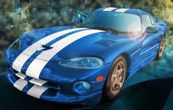 Picture Dodge Viper, GTS, sports car