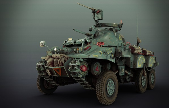 Picture weapons, transport, car, SCI-FI WW2 ALLIED RECON VEHICLE