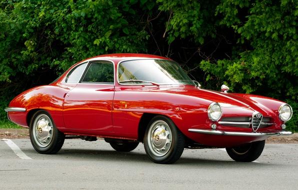 Photo wallpaper Alpha, Retro, Alfa Romeo, Retro