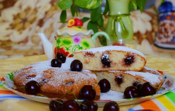 Picture Berries, Cherry, Pie, The sweetness