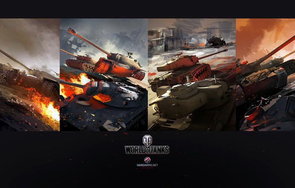 Picture World of Tanks, Dmitry Grishaev, USA tanks