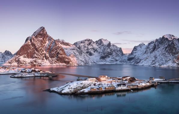 Picture arctic, Sakrisøya, Norway