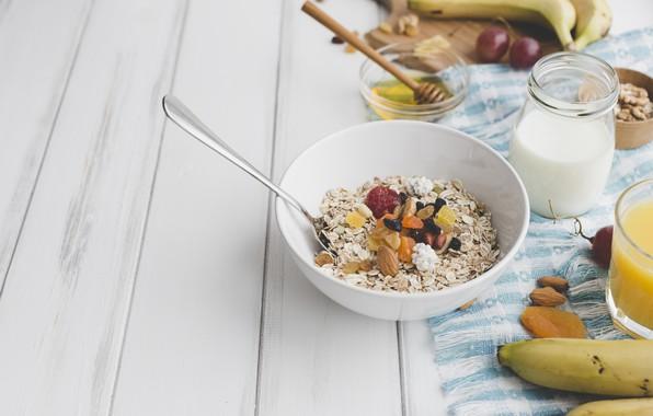 Picture fruit, Breakfast, Flake