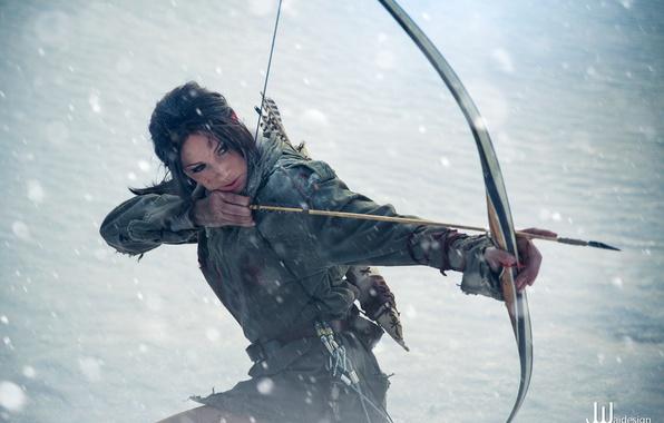 Picture Tomb Raider, Lara Croft, Cosplay, Rise Of The Tomb Raider, Jenn Croft
