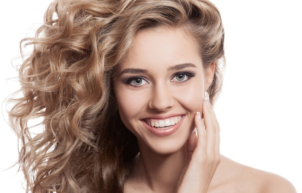 Picture smile, model, look, blonde