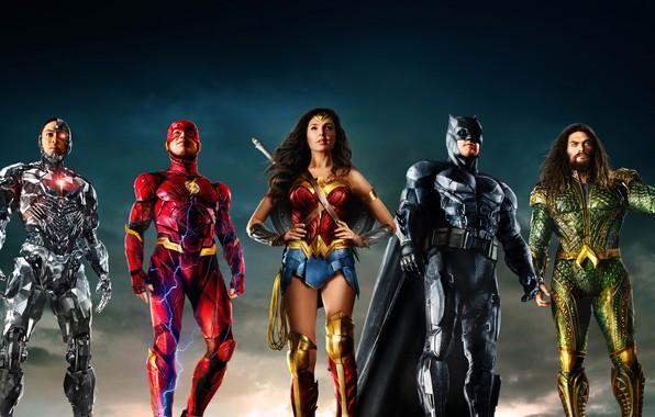 Picture background, fiction, Wonder Woman, poster, Batman, Ben Affleck, comic, costumes, superheroes, DC Comics, Bruce Wayne, ...