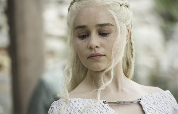 Picture face, A Song of Ice and Fire, Game of Thrones, blonde, queen, Emilia Clarke, Daenerys …