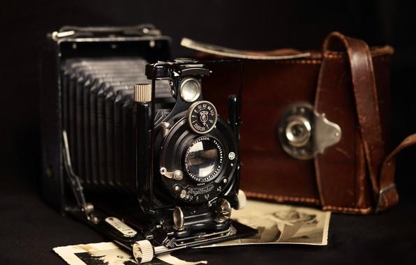Picture Photo, Retro, The camera