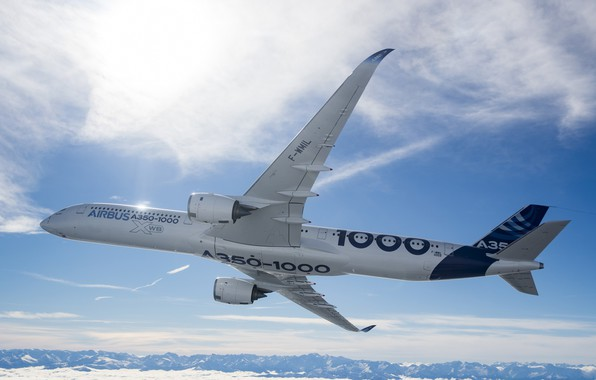 Picture Airbus, Airbus, The A350, A350-1000