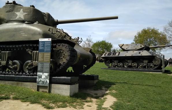 Picture france, sherman tank, normandie, ww2 tank, m10