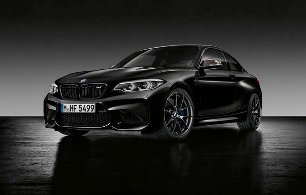 Picture background, BMW, BMW, Black, Coupe, F87