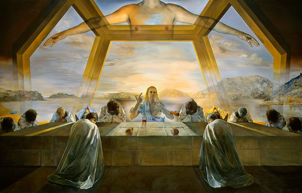 Wallpaper picture salvador dali the last supper salvador dali photo wallpaper picture salvador dali the last supper salvador dali surrealism voltagebd Image collections