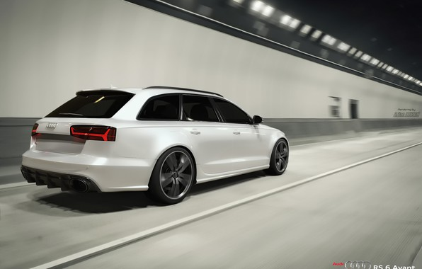 Picture Audi, audi, white, rs6