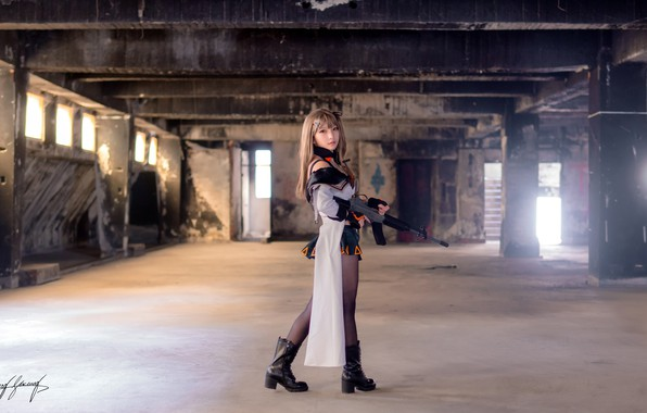 Picture style, costume, machine, the ruins, Asian