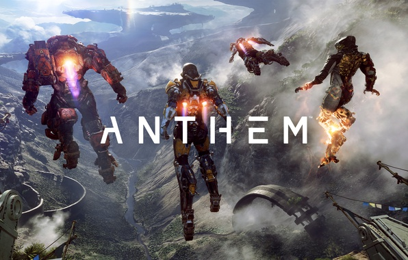 Picture robot, the exoskeleton, action, bioware, action, Anthem