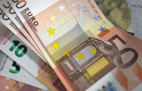 Picture money, currency, bills, EURO