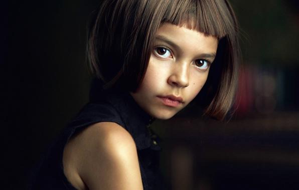 Picture girl, Matilda, brown-eyed, Alexander Vinogradov, Alexander Vinogradov