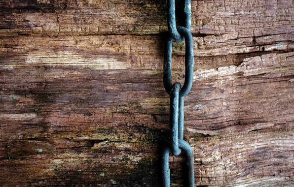 Picture background, wall, chain