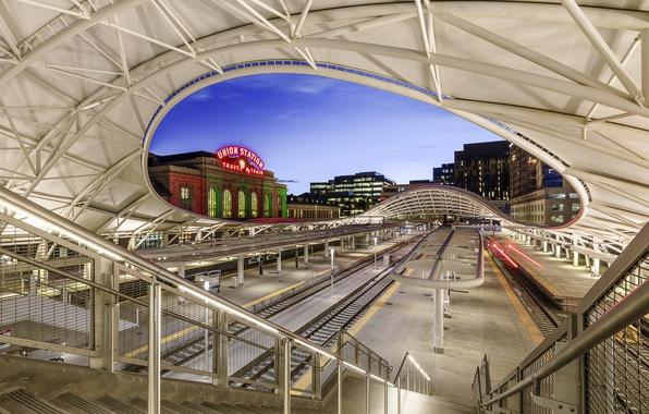 Picture station, Colorado, architecture, Denver, Colorado, Denver, union station