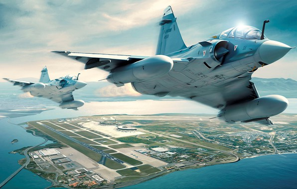 Picture the sky, earth, the plane, Military aircrafts