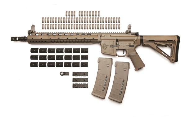 Wallpaper gun, Predator, weapon, rifle, LaRue, PredatOBR ...