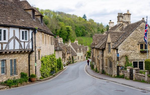 Picture England, Home, Village, Castle Combe