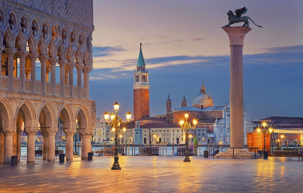 Picture city, the city, Italy, Venice, Italy, panorama, Europe, view, Venice, cityscape, travel, Piazza San Marco, …
