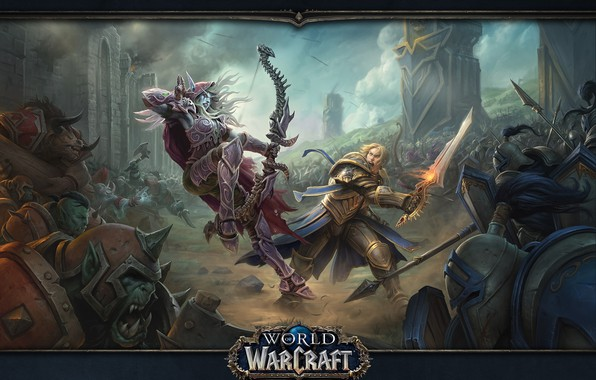 Picture wow, sylvanas, anduin