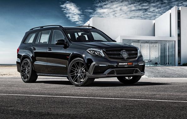 Picture Mercedes-Benz, Brabus, Mercedes, X166, GL-Class