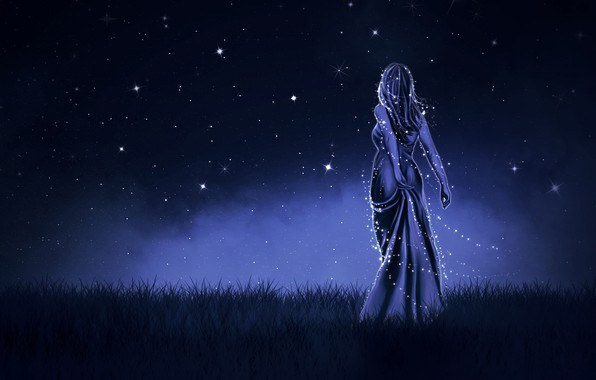 Picture Girl, Night, Dress