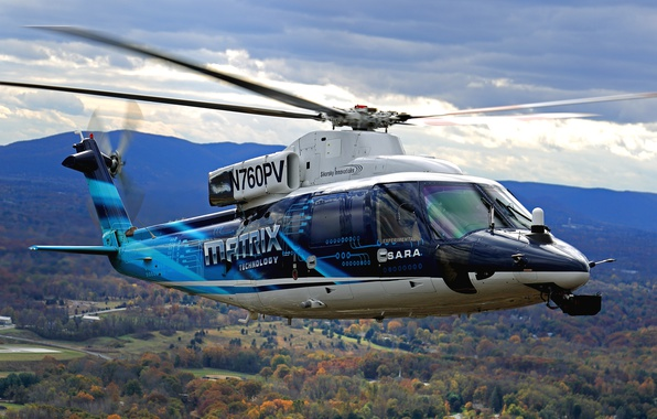 Picture flight, helicopter, Sikorsky, MATRIX