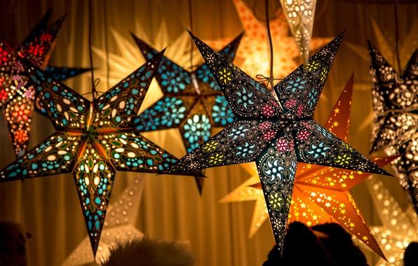Picture stars, decoration, stars