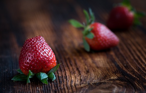 Picture strawberry, berry, Fragaria viridis, Polonica