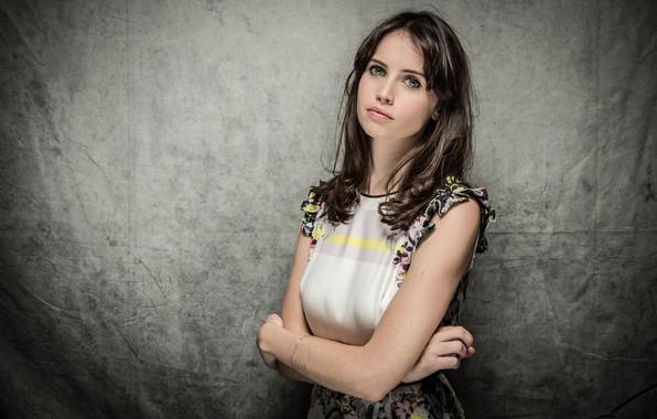 Picture portrait, actress, Felicity Jones