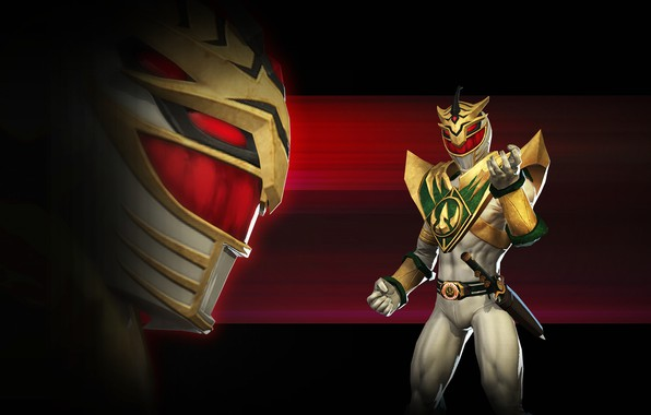 Picture red, white, game, armor, weapon, evil, Power Rangers, dagger, PR, Power Rangers: Legacy Wars, Lord …