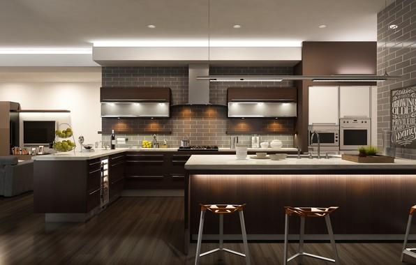 Picture design, style, table, interior, kitchen, design, interior, modern, table, kitchen
