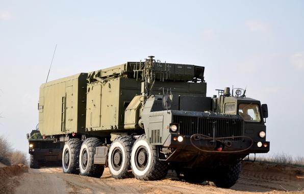 Picture truck, heavy, machinery, MZKT