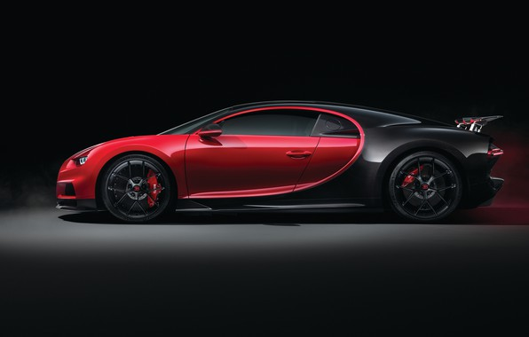 Photo wallpaper Bugatti, side view, 2018, Sport, Chiron