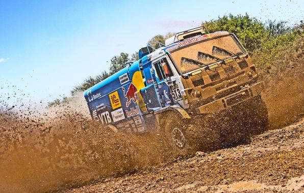Picture Auto, Sport, Truck, Master, Dirt, Squirt, Kamaz, Rally, Dakar, Dakar, Rally, KAMAZ, Master