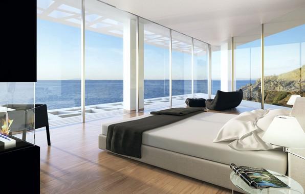 Wallpaper Interior Glass Home In Arsuf Bedroom Villa Design Images For  Desktop Section Home In Dizain Wallpaper