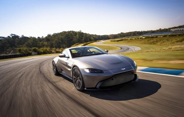 Wallpaper Aston Martin Coupe Speed Track Vantage V - Aston martin two door