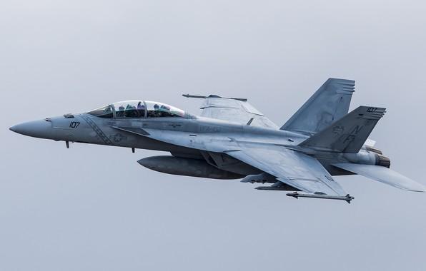 Picture flight, the plane, flies, combat, VFA-102