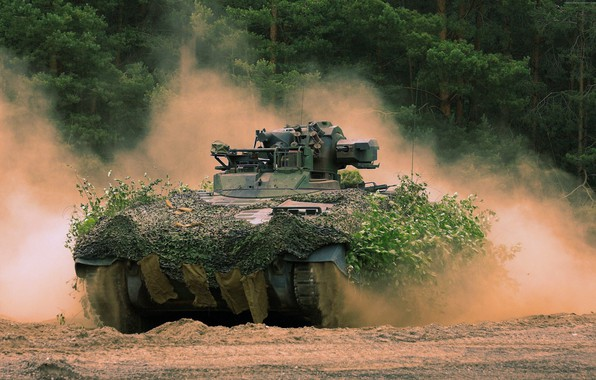 Picture weapon, armored, Marder, military vehicle, armored vehicle, armed forces, military power, war materiel